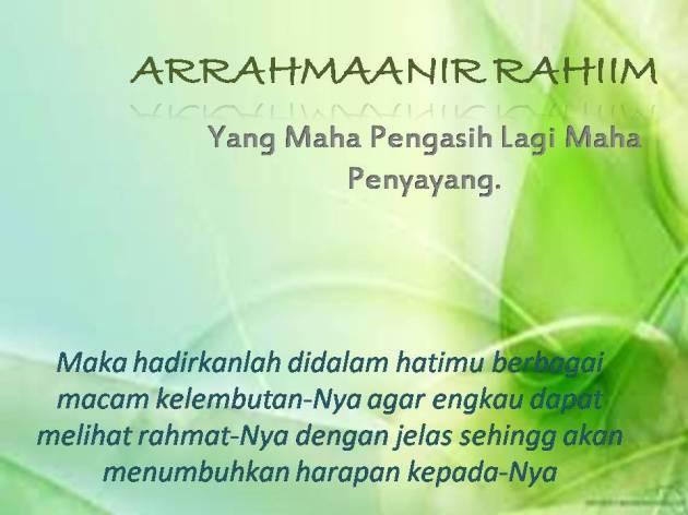 ARRAHMAAN